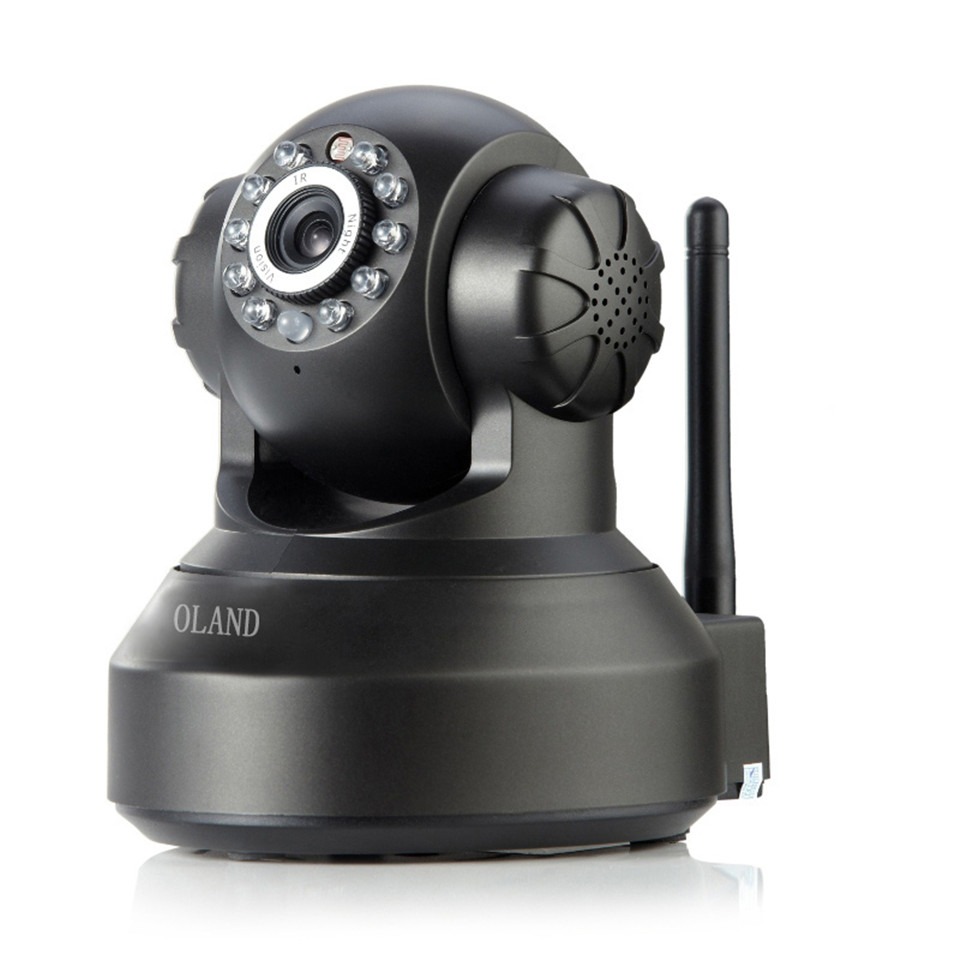 IP Camera 720p P / T Micro TF Card Wireless Surveillance Built-in WiFi Free Wiring Mini Family CCTV Camera With 3.6mm lens J46c<br><br>Aliexpress
