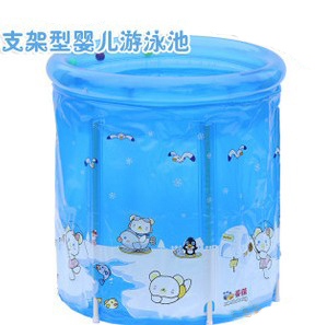 80*85cm imported environmental protection PVC material hard plastic kiddie pool plastic baby pools cheap swimming pools for sale(China (Mainland))