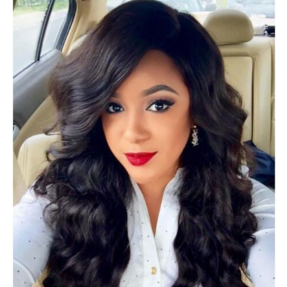 Фотография Isabel Hair 8A full lace human hair wigs100% brazilian virgin hair 130% density lace front human hair wigs for black women