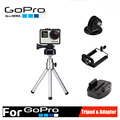 Universal Aluminum Mini Tripod with Stand Holder Tripod Mount Adapter for Gopro Hero 2 3 3