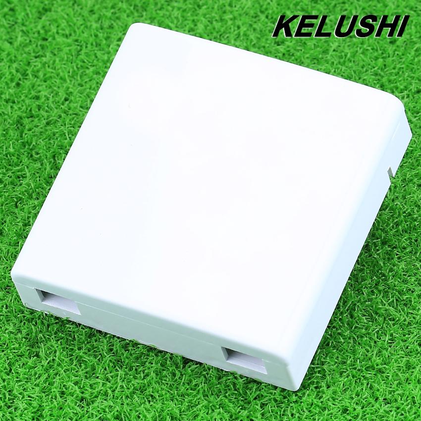 KELUSHI wholesale FTTH FTTH fiber panel fiber optic terminal junction box 86 information panels 86 Desktop Box 10pcs/lots(China (Mainland))