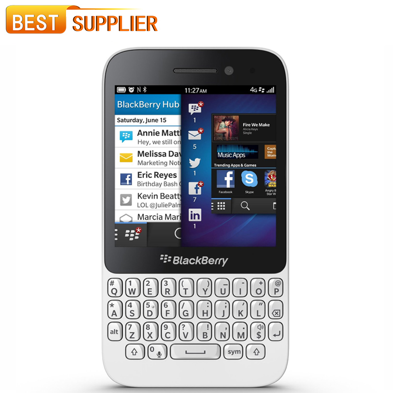 """2016 Limited Arrival Smartphone Original Blackberry Q5 3.1"""" Dual-core 2gb Ram 8g Rom 5mp Camera Network Unlocked Cell phone(China (Mainland))"""