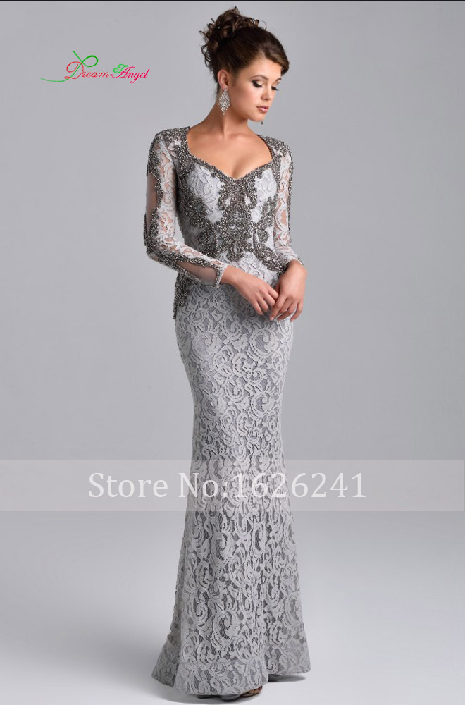 Collection Long Sleeve Evening Dresses Pictures - Reikian