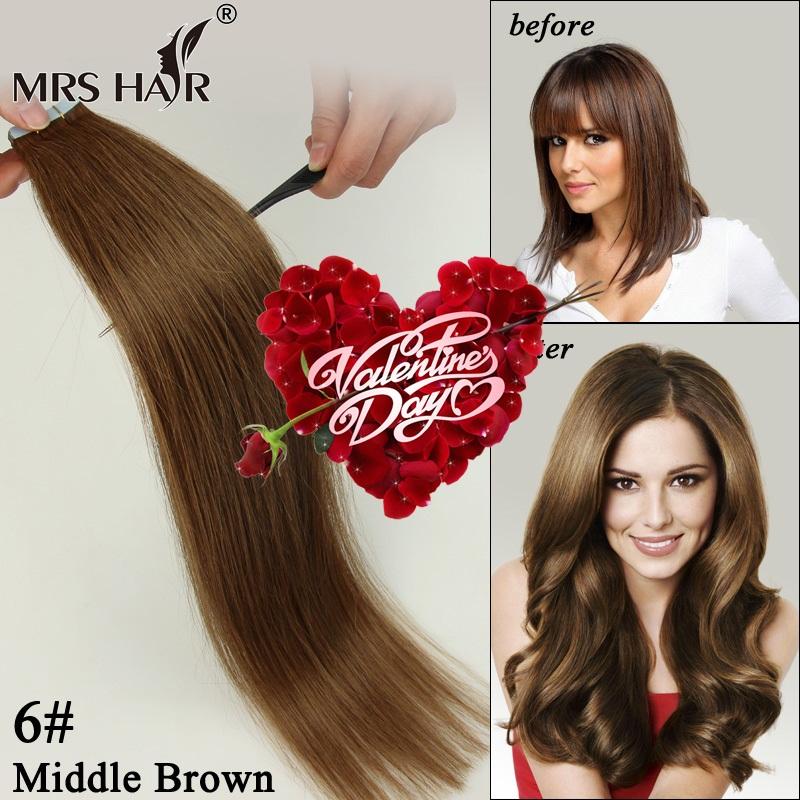 Longest Human Hair Extensions 52