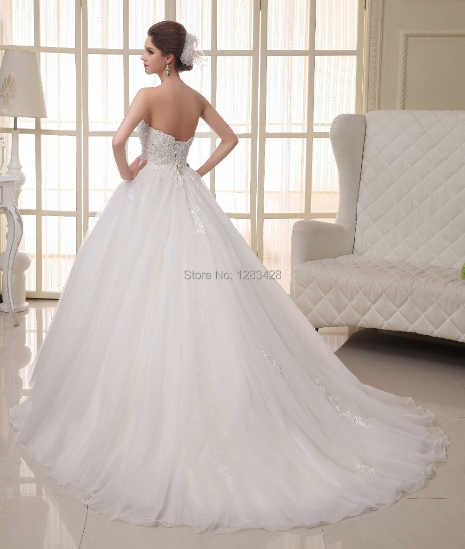 Elegant wedding dresses simple but elegant