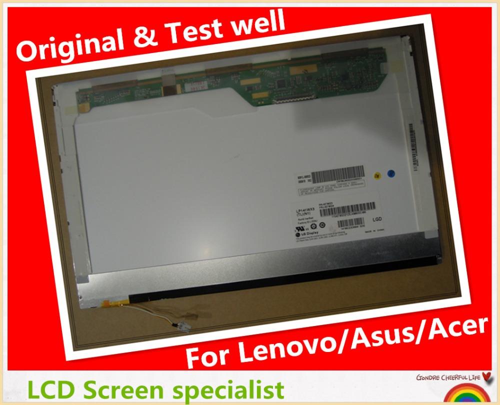 High quality  Original 14.1 WXGA Laptop LCD Display Screen Lamp B141EW04 V4 LP141WX3 TLN1 TLN2 LTN141W1-L02 N141I2-L02<br><br>Aliexpress