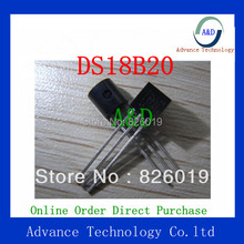 10PCS 100% New and original DS18B20 TO-92 18B20 IC DS18B20+ TEMPERATURE SENSOR 1-WIRE TO92-3(China (Mainland))