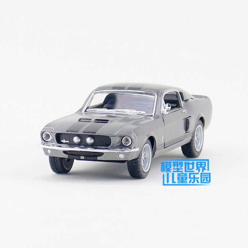 Kinsmart Mustang Shelby GT500 1967 Black 1/38 alloy models model car back pull back car children's toys car Kids toy(China (Mainland))
