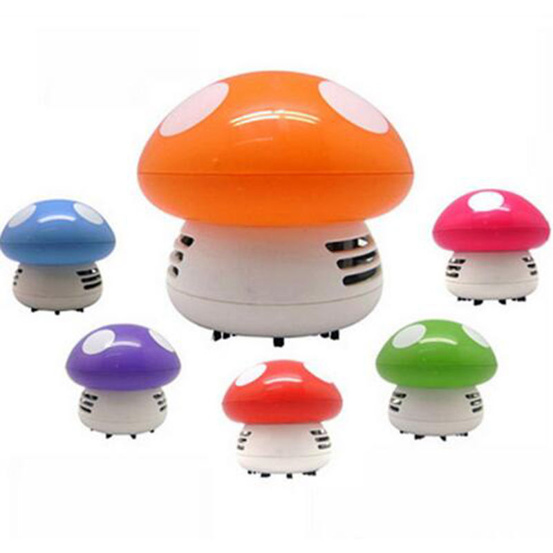 1PCS Mini Mushroom Vacuum Cleaner For Corner Desk Table Mouse Dust Absorption(China (Mainland))