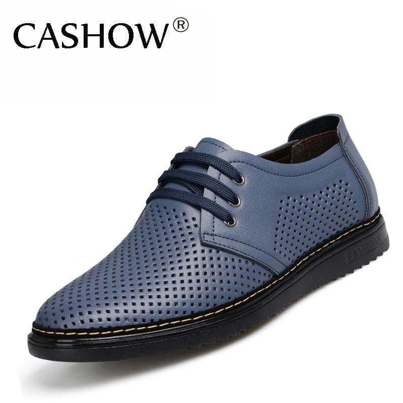 Здесь можно купить  New 2014 Hollow out genuine leather men