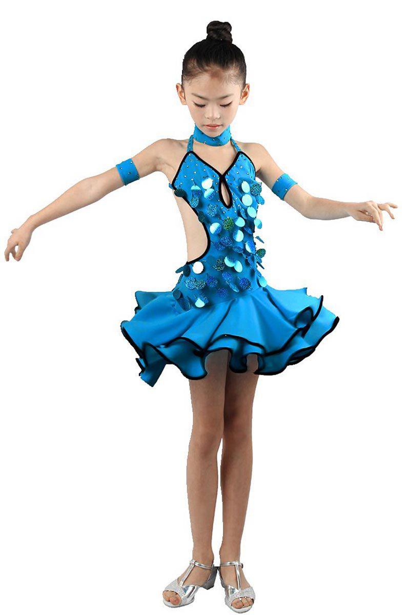 Бальное Платье Для Танцев Для Девочки Купить