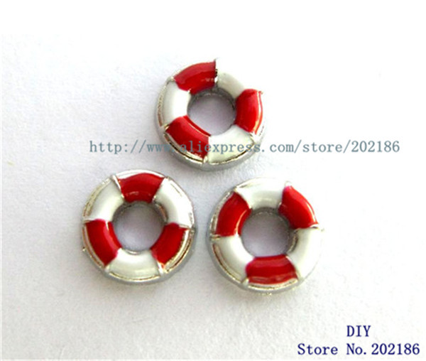 10pcs Life Preserver floating locket charm Zinc Alloy Fit memory locket charm FC758(China (Mainland))
