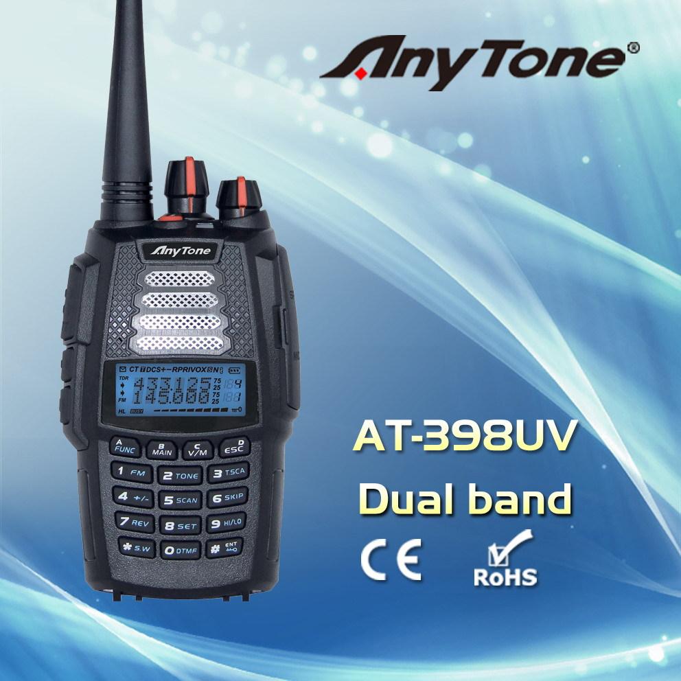 AnyTone VHF+UHF AT-398UVD full duplexer dual band portable radio(China (Mainland))