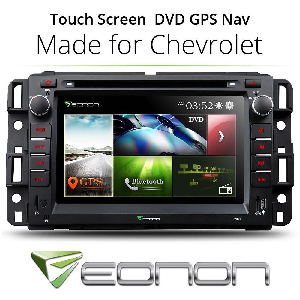 "7"" Head Unit Car CD DVD Player Radio Stereo GPS Bluetooth for Chevrolet GMC(China (Mainland))"