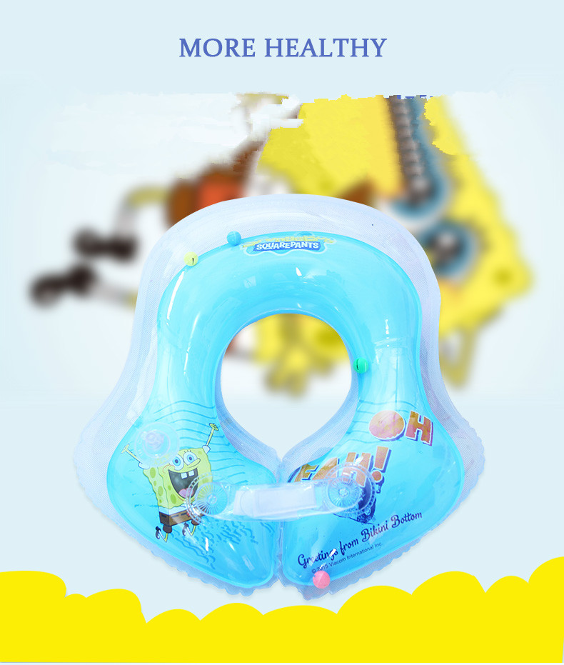 U-shape Baby Swimming Pool Blue Pink Fun Inflatable Pool Underarm Swimming Float Baby Swim Ring Swimming Baby Trainer(China (Mainland))