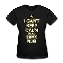 Buy Army Mom Women's T-Shirt 2017 Summer Women Short Sleeve Shirt Fashion Brand Harajuku Kawaii Slim Punk Tops Female T shirt Summer for $12.34 in AliExpress store