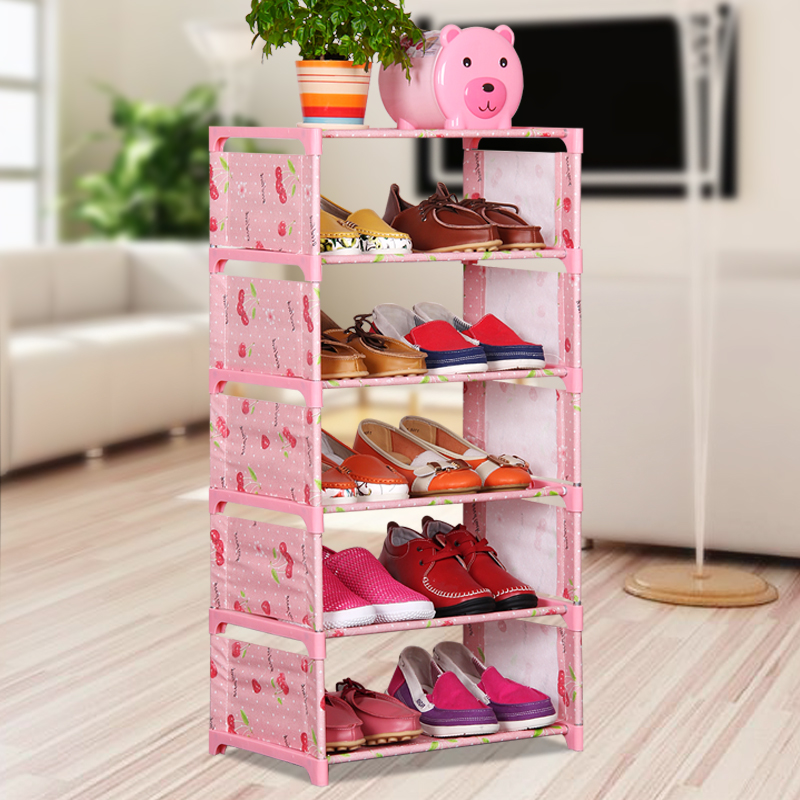 Simple multilayer container dust cloth shoe combination of low economic assembled racks<br><br>Aliexpress
