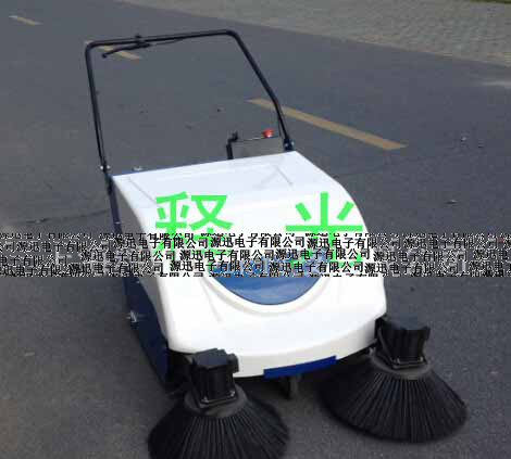 Small electric Sweeper machine hand-push Sweeper road Sweeper battery road junk Sweeper(China (Mainland))