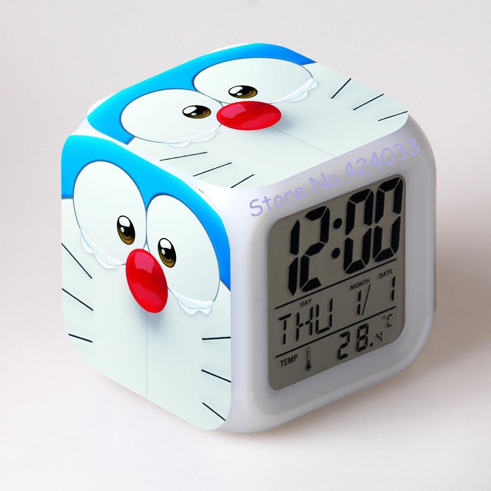 Doraemon clock reviews online shopping doraemon clock for Amazing alarm clocks