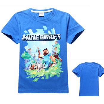 Комикс стив футболки дети мальчик в верхний тройник комикс дети одежда 100% хлопок детская одежда мальчик футболки