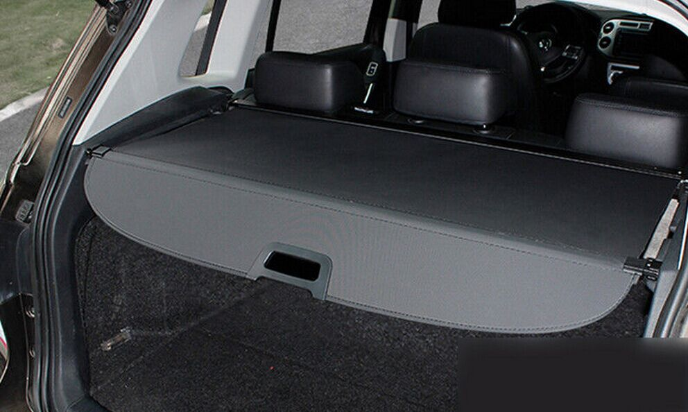Black Retractable Rear Cargo Trunk Cover For Jeep Compass 2011 2015 In Rear Racks Amp Accessories
