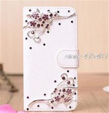 Buy Bling Crystal Diamonds Pearls Handmade Wallet PU leather flip slots stand wallet case cover Nokia Lumia 1320 for $6.31 in AliExpress store