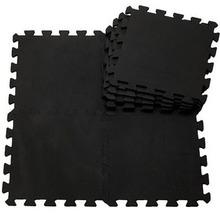 9pcs/ lot baby black EVA Foam Interlocking Exercise Gym Floor play mats Protective Tile Flooring Free combination carpets30*30cm(China (Mainland))