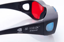 2014 Universal type 3D glasses/Red Blue Cyan 3D glasses Anaglyph 3D Plastic glasses