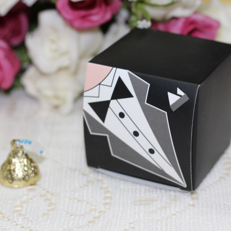 Bride and Groom Wedding Candy Box Casamento Wedding Favors And Gifts ...