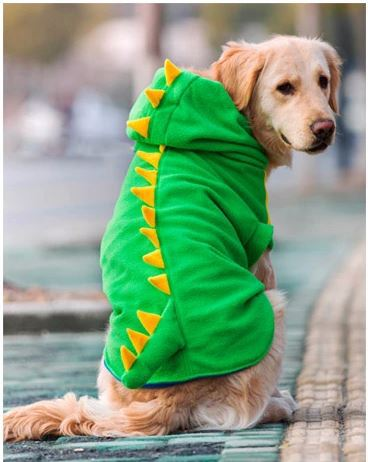 Big Size Fleece Large Dog Clothes Pet Clothing Golden Labrador Retriever Coat Hoodie Apparel Life Jacket For dogs Free Shipping(China (Mainland))