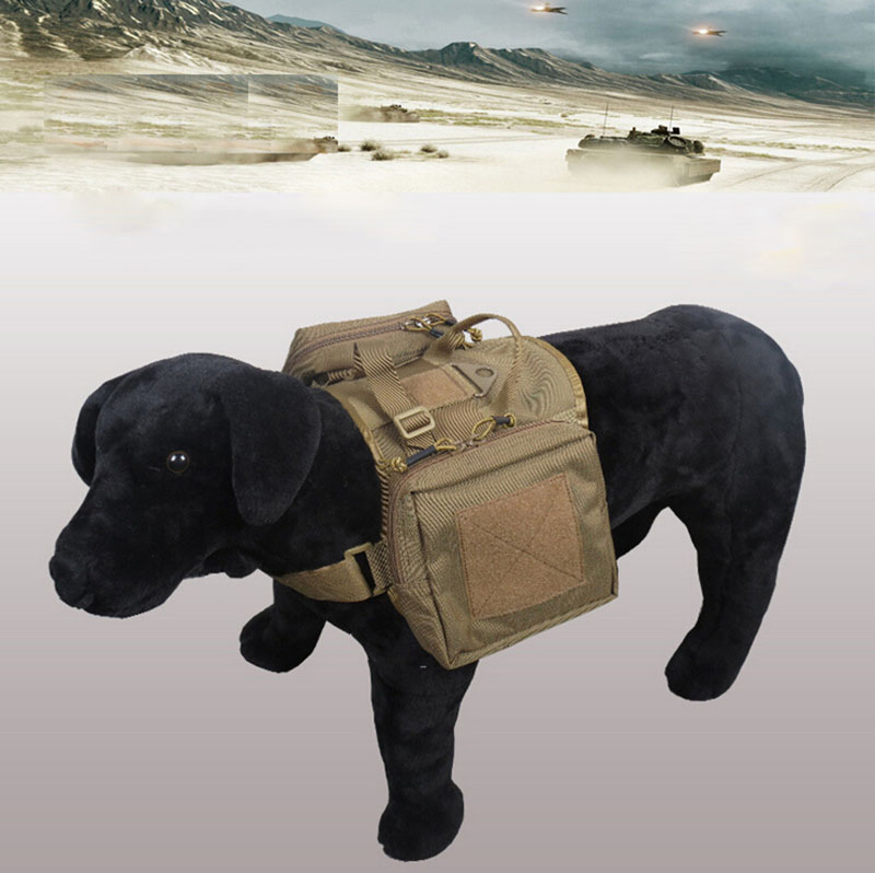 Здесь можно купить  Army Dog Tactical Vests Outdoor Military Dog Clothes Load Bearing Harness SWAT Tactical Dog Training Molle Vest Harness  XL1155  Дом и Сад