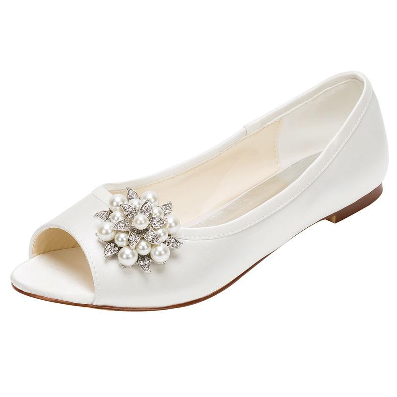 Online Get Cheap Flat Ivory Wedding Shoes -Aliexpress.com | Alibaba Group