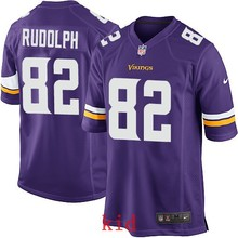100% Elite men Minnesota Vikings women kids youth free shipping wholesale 82 Kyle Rudolph,camouflage(China (Mainland))