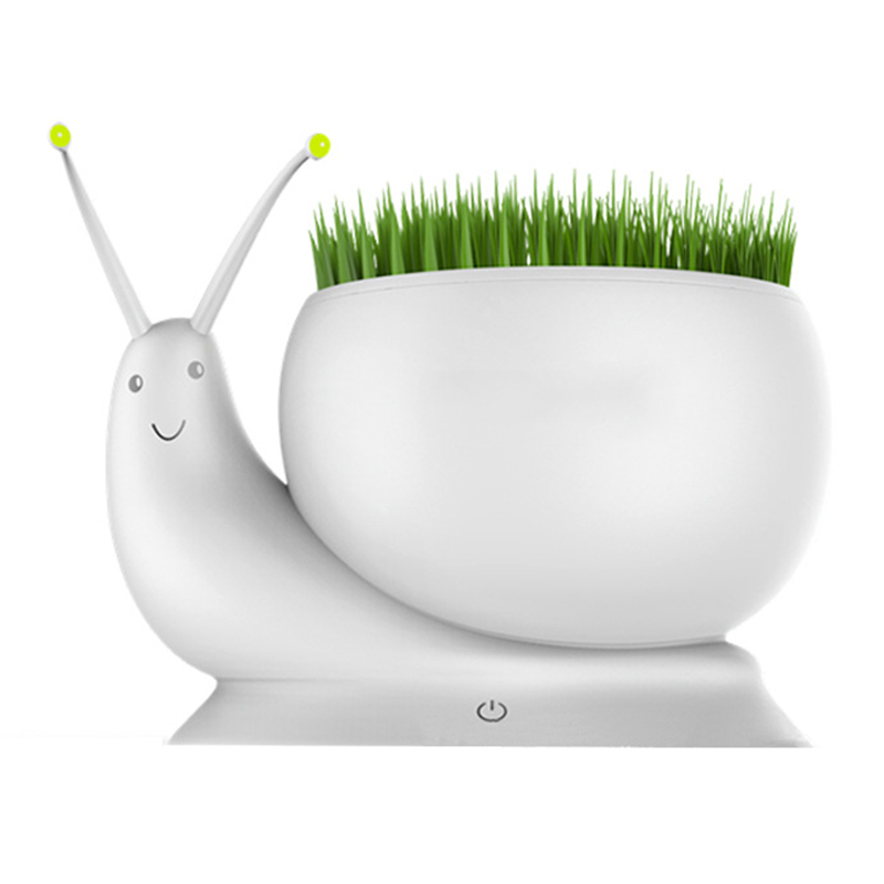 LED Creative snails plant table lamp USB Nightlight