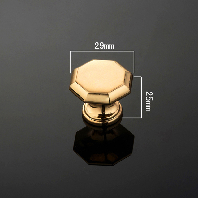 40PCS/LOT  Golden Kitchen Cabinet Drawer Knobs Furniture Handle Pulls