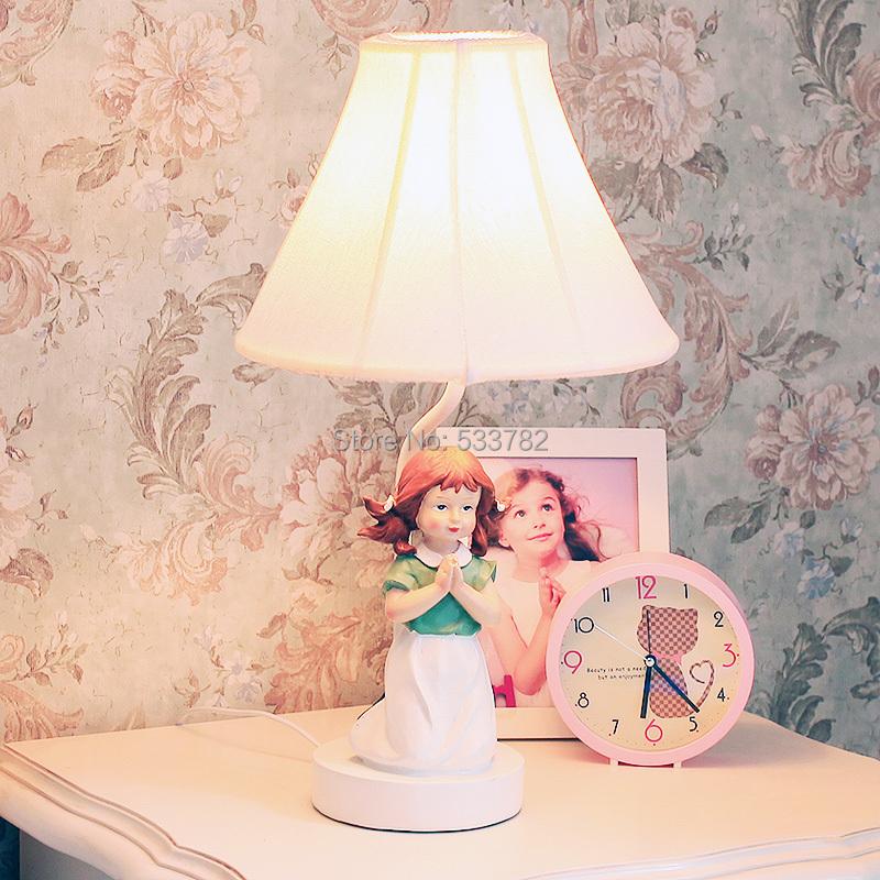 Cottage brief decoration table lamp table light bedroom bedside lamp wedding gift boy/girl<br><br>Aliexpress