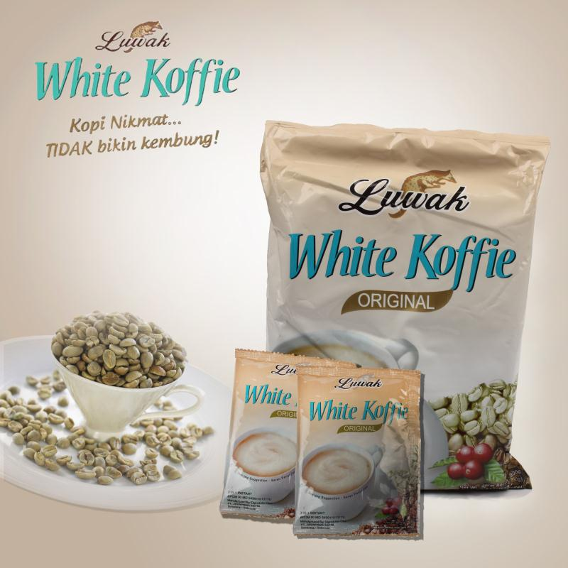 400g 20bags 20g bag High Quality Luwak coffee from Indonesia Luwak white coffee Free shiping