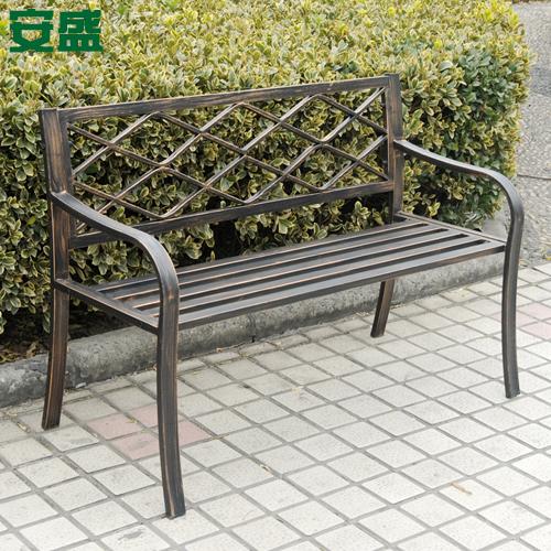 Muebles de jard n de hierro compra lotes baratos de for Bancos de hierro para jardin