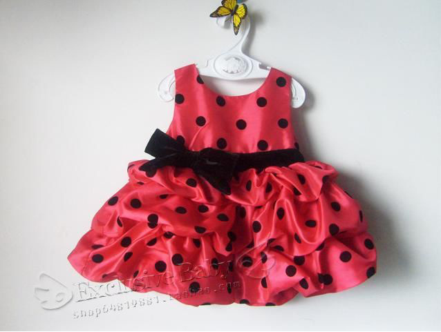 girls dot tutu dresses,princess dress,baby girls ball dresses,5isze*2colors in stock free shipping