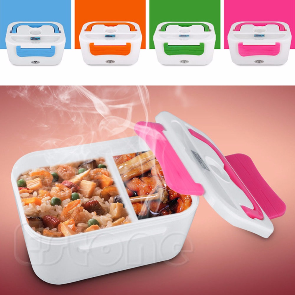 A81 2016 newest Portable Electric Heated Portable Compact Food Warmer Lunch Box Bento Box free shipping(China (Mainland))