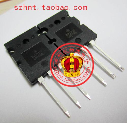 Free shipping Audio amplifier tube MJL21193 MJL21194 TO-247 new original