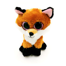 Buy Lis Ty Beanie Boos Big Eyed Stuffed Animal Brown Slick Fox Plush Doll Kids Toy 6'' Birthday Gift Good Quality Soft Big Eyes L02 for $5.99 in AliExpress store