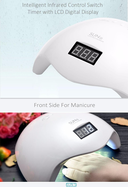 SUN5 36W LED Nail Lamp UV Lamp Nail curing lamp Nail Dryer Machine Tool