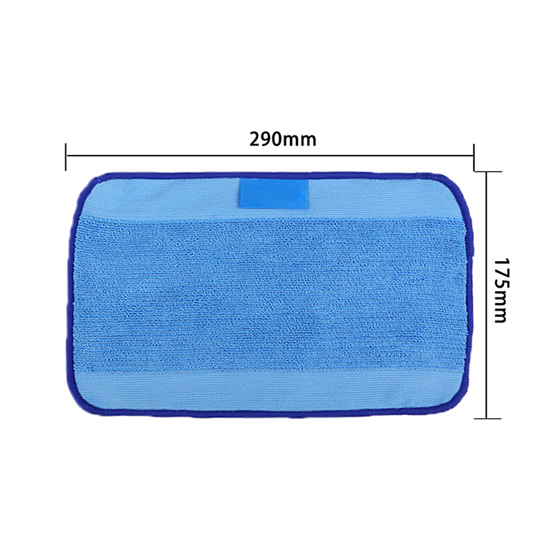 Washable Reusable Replacement Microfiber Mopping Cloth For iRobot Braava 380t 320 Mint 4200 5200 Robotic VCT56 P16 0.5(China (Mainland))