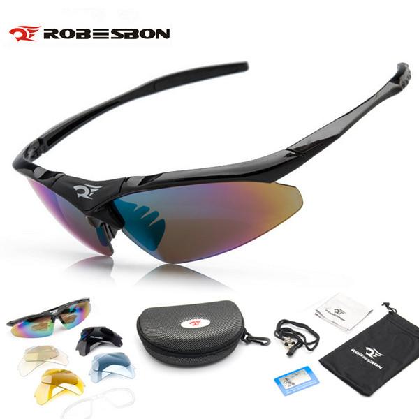 Cycling sunglasses 5 lenses bike bicycle eyewear riding sport glasses points sun bike galesses for men brand design men glasses(China (Mainland))