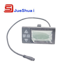 36V ebike intelligent LCD Control Panel LCD Display Electric bike Parts With Two connector Selection JSE-790(China (Mainland))
