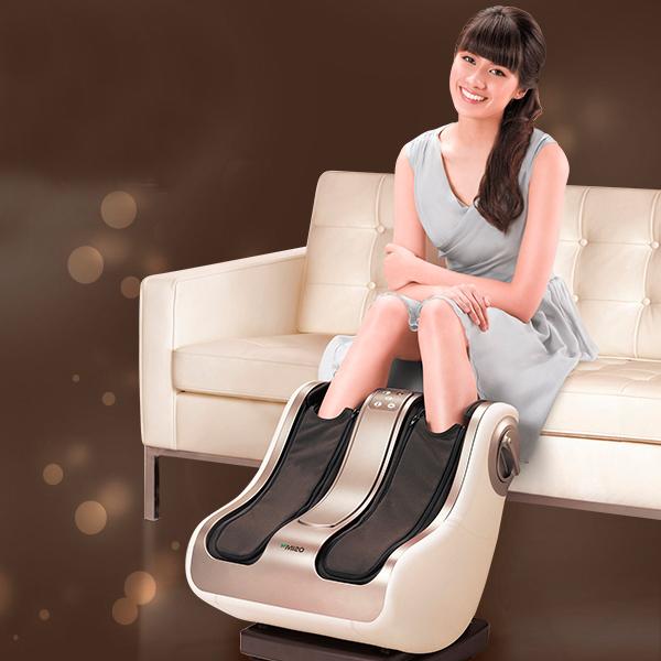 2015 New Arrival Luxury Foot Massage Machine Leg 3D Shiatsu Massager Foot Pain Relief Machine As Seen On TV 2015 Free Shipping(China (Mainland))