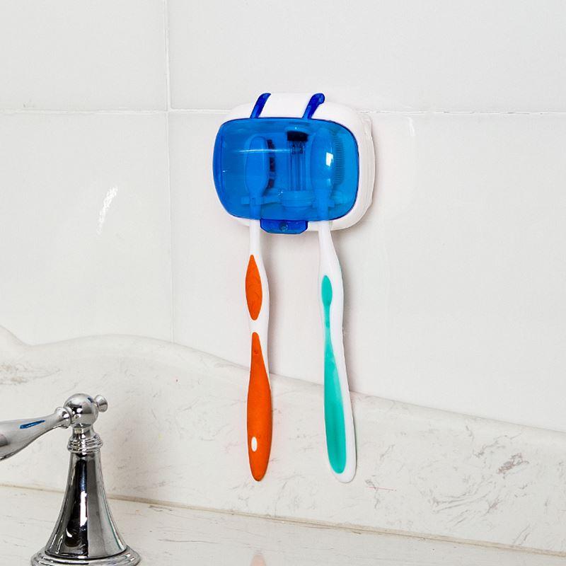 UV toothbrush sanitizer sterilization holder
