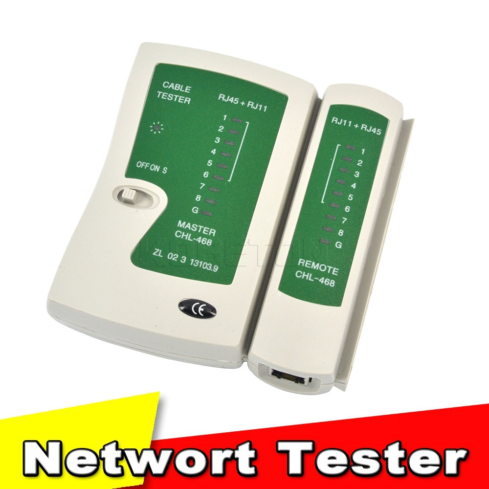 Professional Network Cable Tester RJ45 RJ11 RJ12 CAT5 LAN Cable Tester Networking Wire Telephone Line Detector Tracker Tool kit(China (Mainland))