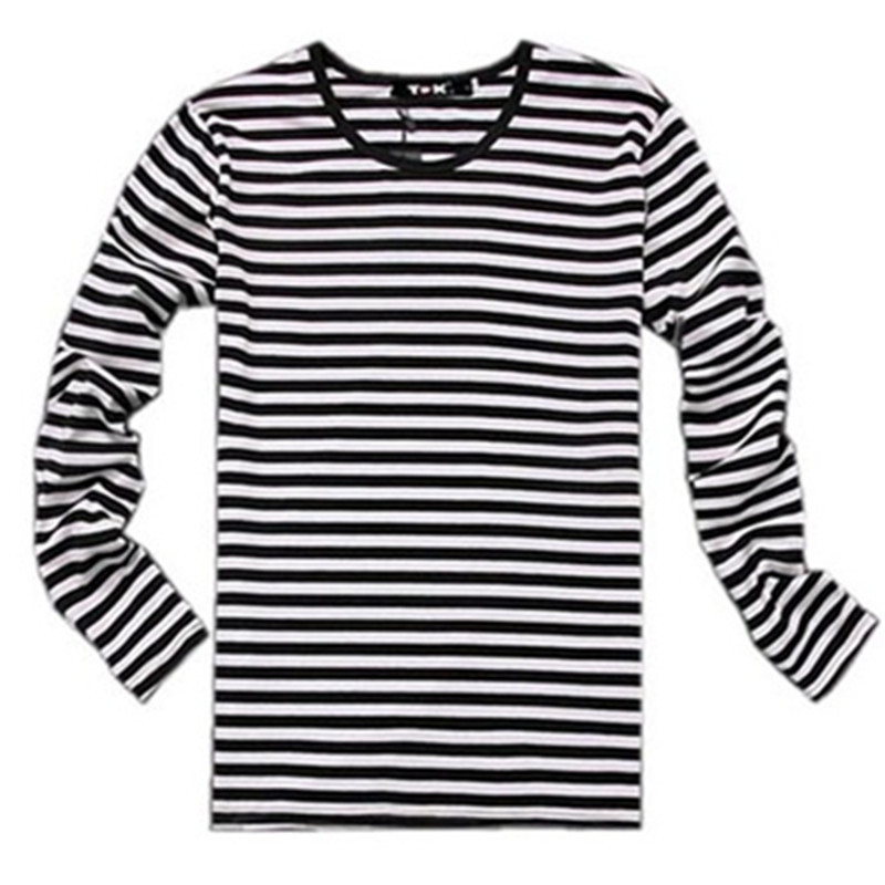 white and black striped shirt long sleeve | Gommap Blog